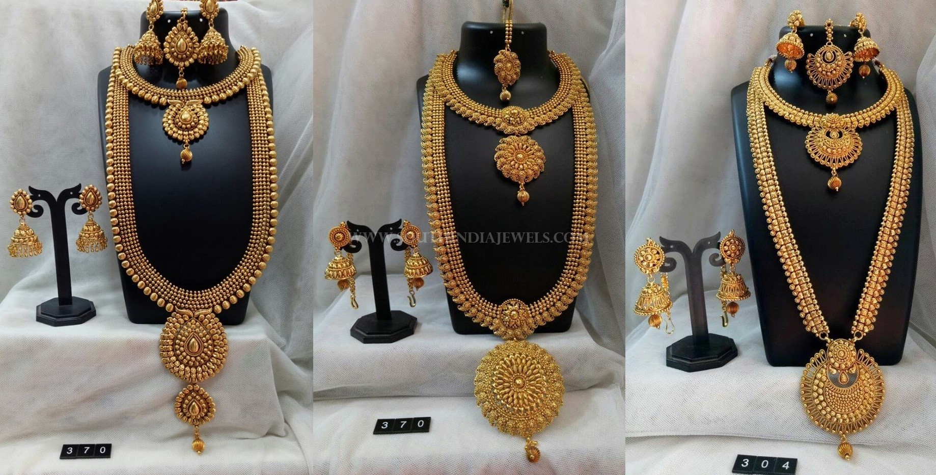 Bridal Plain Jewellery Sets