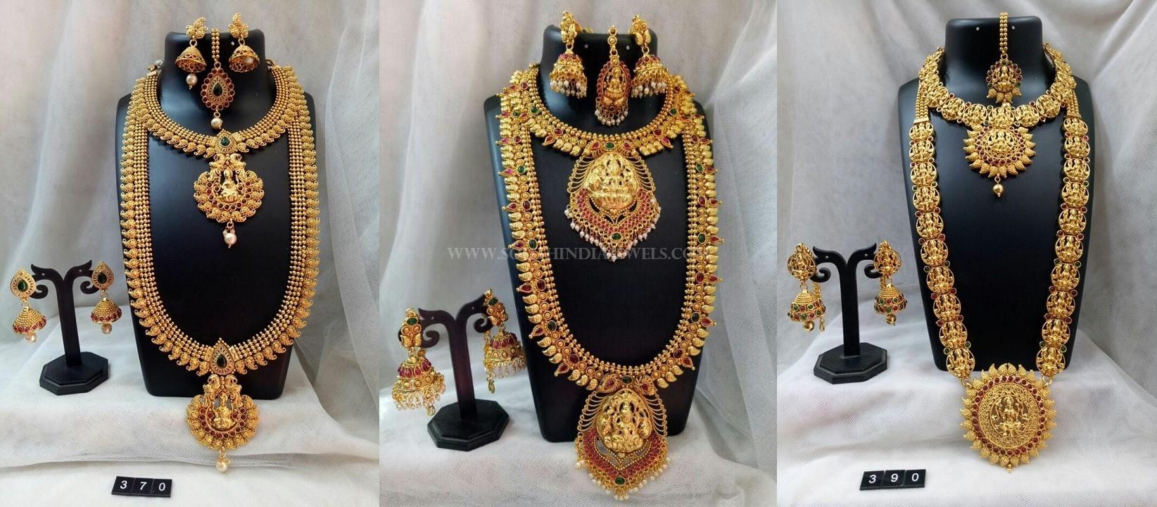 Bridal Temple Jewellery Set From Simma Jewels