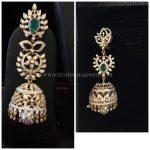 Diamond Jhumka Design From Bhavani Jewellers