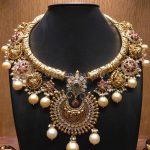 Gold Nakshi Kante Necklace