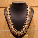 Gold Nakshi Work Kasumalai Necklace