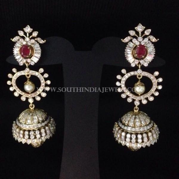 Diamond Long Earrings From Akra Diamonds
