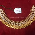 22K Gold Tussi Choker Necklace