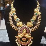 Grand Bridal Necklace From Bhavani Jewellers