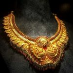 Gold Temple Necklace From CMR Jewels