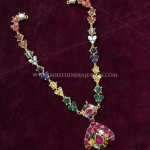 Navarathna Gold Necklace From Big Shop
