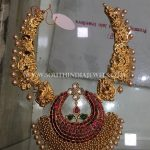 110 Grams Gold Necklace Design