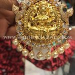28 Grams Gold CZ Pendant
