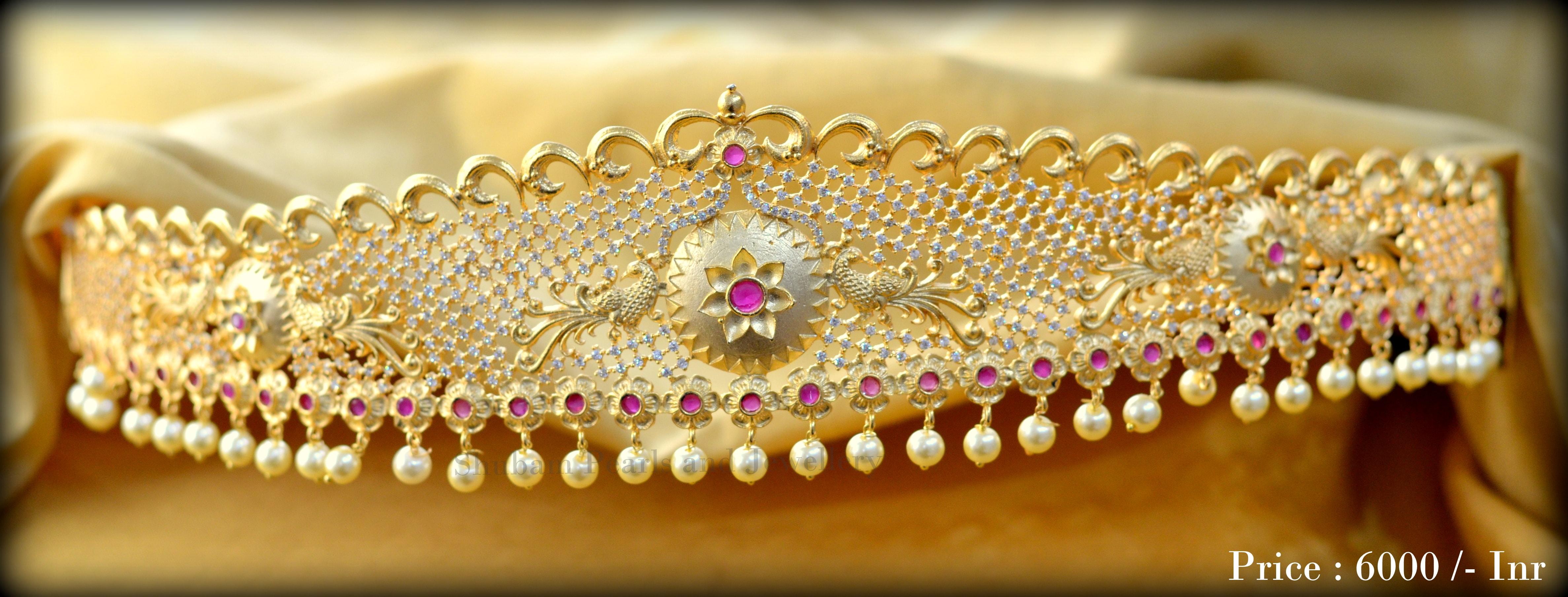 Gorgeous Bridal Ottiyanam Design