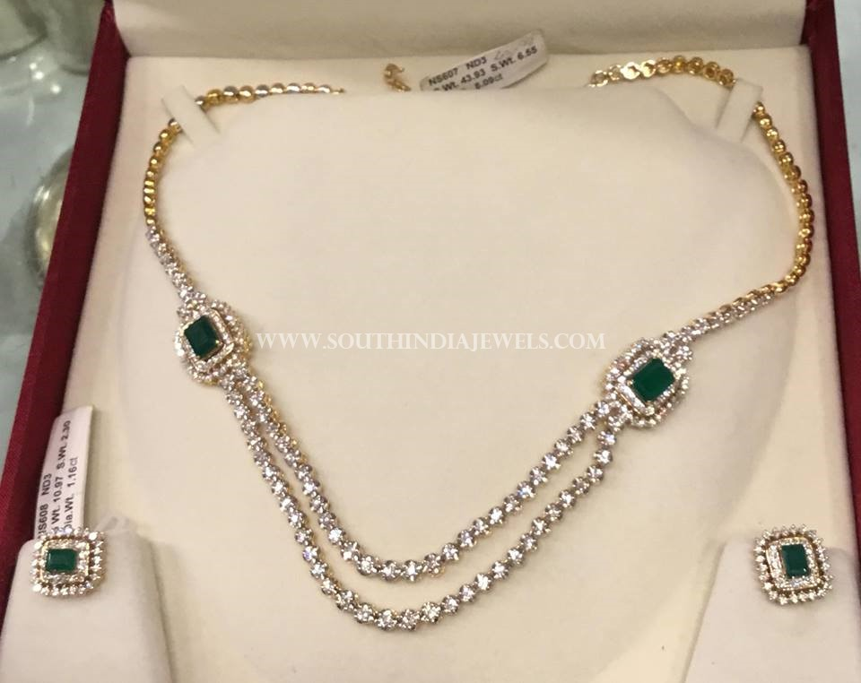 Diamond Step Necklace From PSJ
