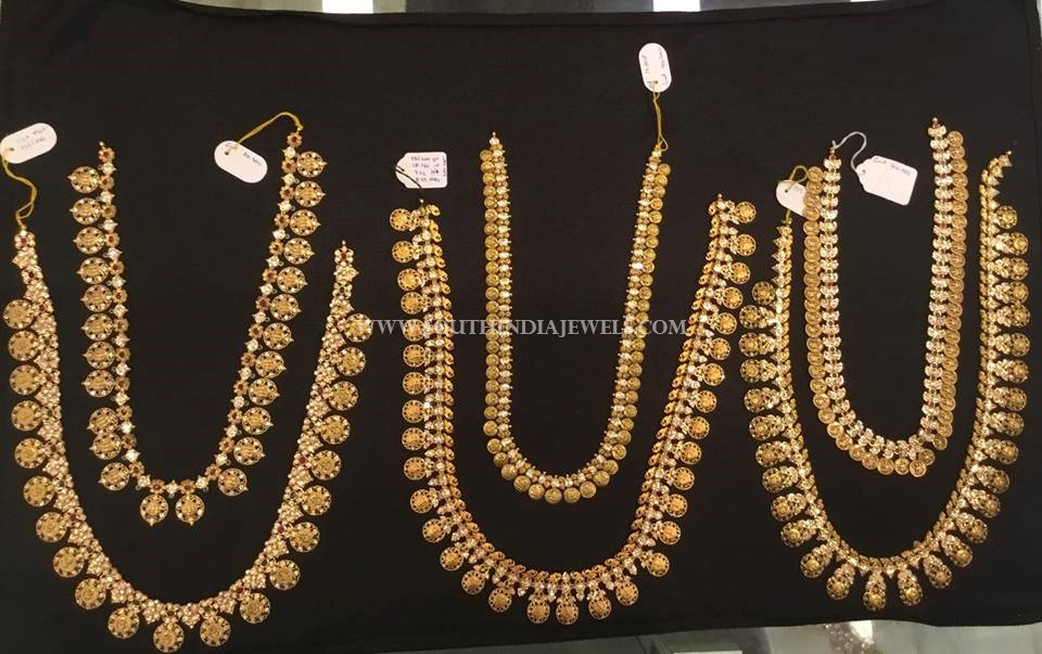 Latest Gold Coin Necklace Collections