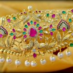 Peacock Vadanam From  Shubam Pearls and Jewellery