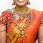 Bride in Gold Antique Jewellery