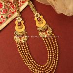 Multilayer Ball Haram From Manubhai Jewellers