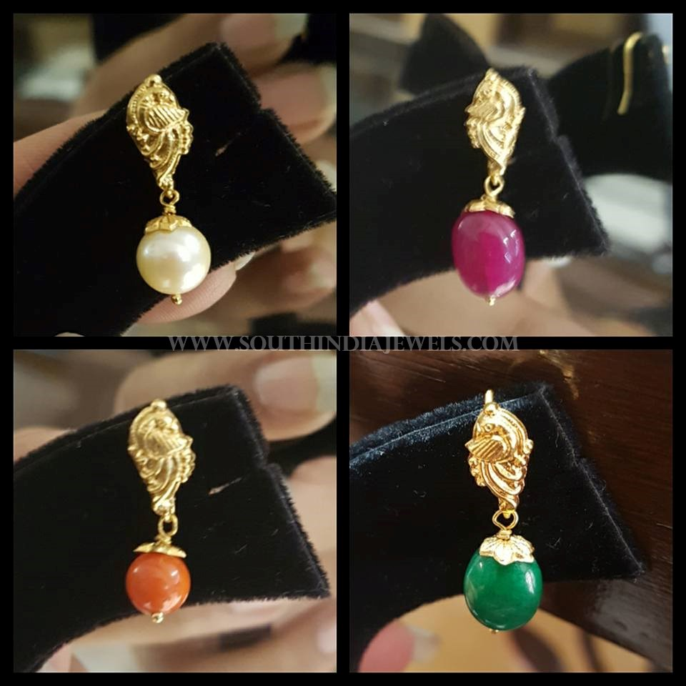 Simple Gold Earrings Collection