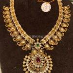 Latest Model Gold Antique Necklace