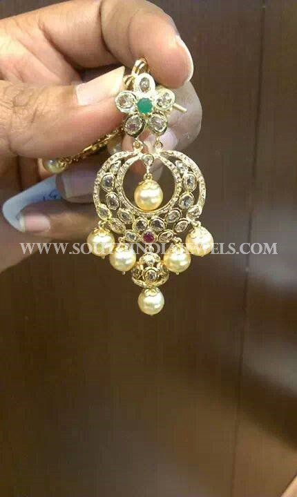 Light Weight Chandbali Earrings From CMR Jewels