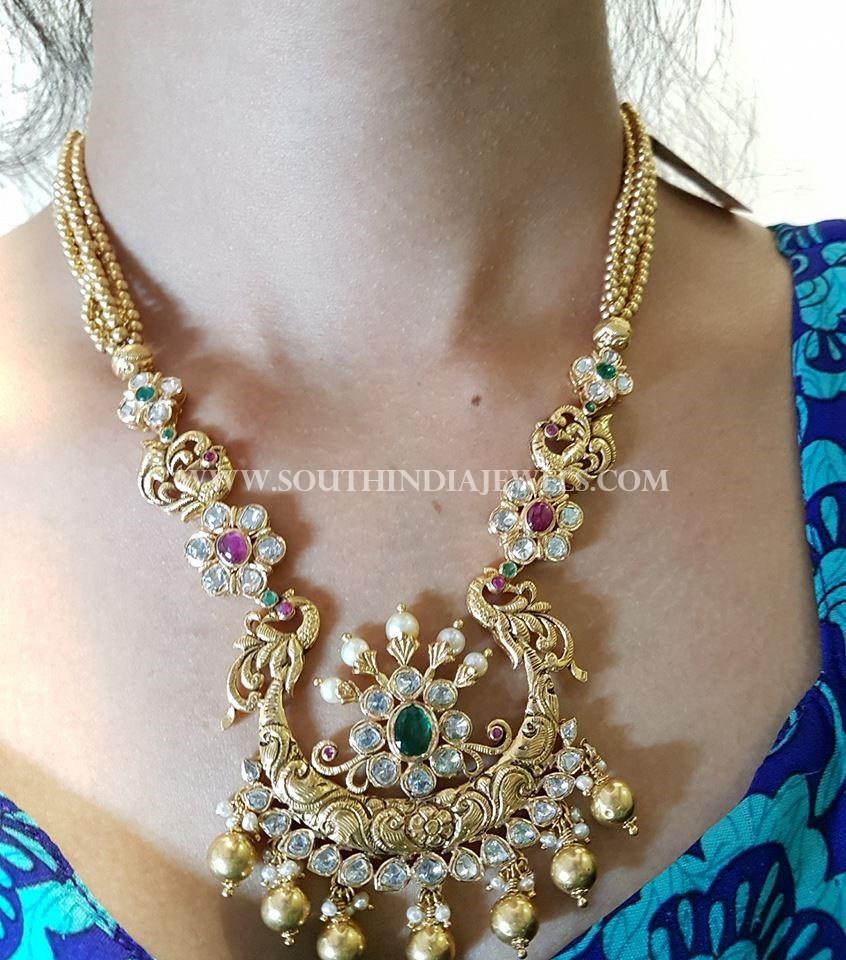 Pachi diamond Necklace