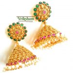 Imitation Antique Jhumka From Vriksham