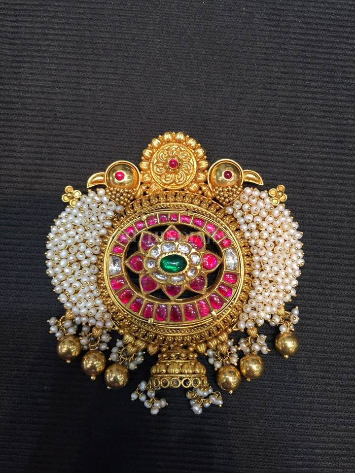 Beautiful Antique Pearl Pendant