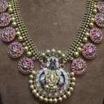 Antique Ruby Necklace With Ganesh Pendant