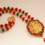 Beaded Temple Necklace From Magha Store
