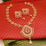 Imitation Ruby Necklace From Magha Store