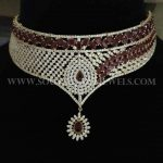 Designer Diamond Choker From Nakoda Jewellery