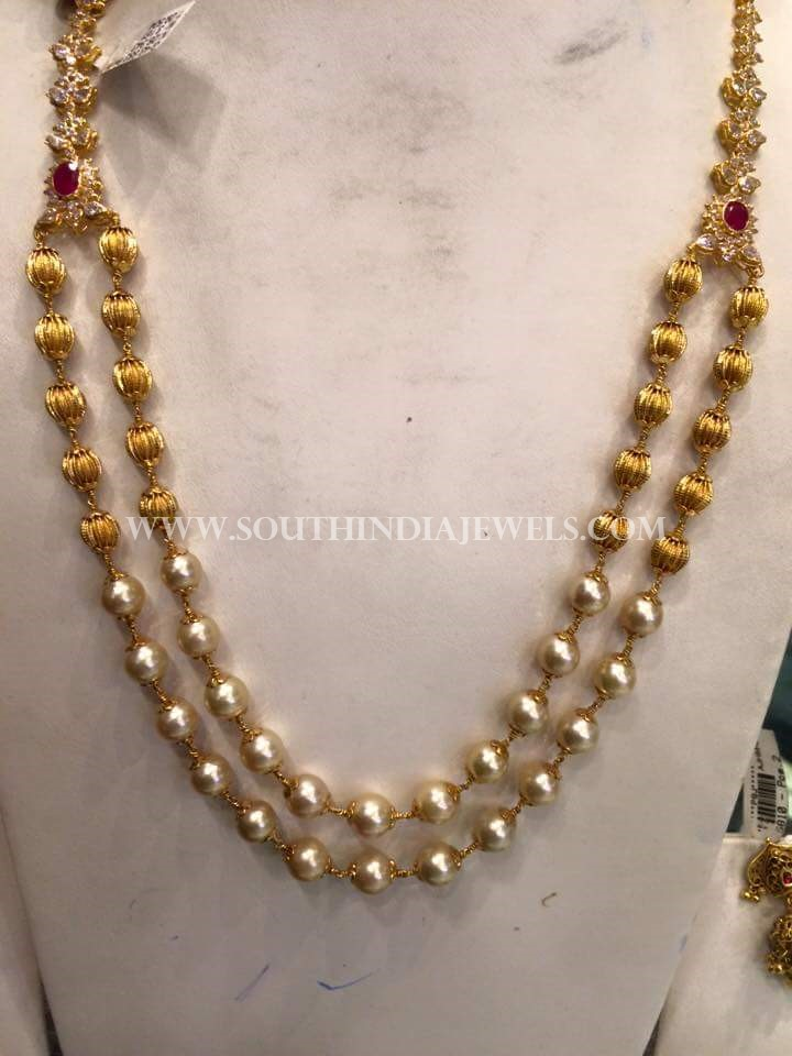 Beautiful Pearl Step Necklace