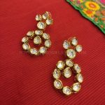 Simple Kundan Earrings