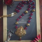 Temple Necklace From Abharanam