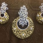 Designer Diamond Pendant Set From Lakshmi Jewellers