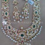Gold Kundan Necklace Set From Amaravati