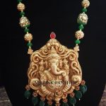 Gold Plated Temple Mala From Ms Pink Panthers