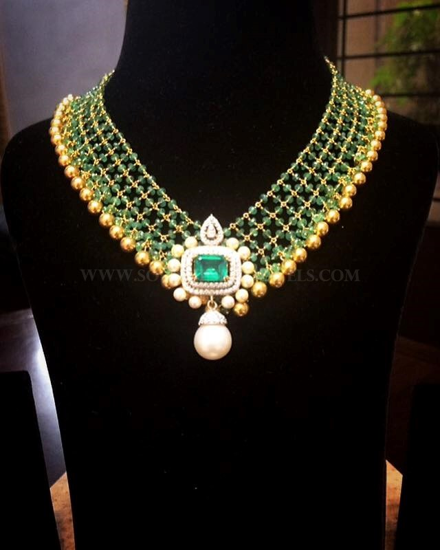 Gorgeous Gold Diamond Necklace