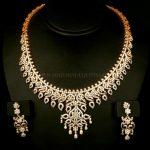 Traditional Diamond Necklace Set