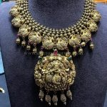 Gold Antique Necklace From P.Satyanarayan & Sons