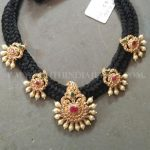 Gold Thread Necklace From Tirupathi Jewellers