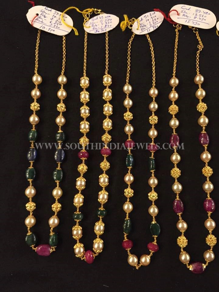 Traditional Pearl Chain Designs