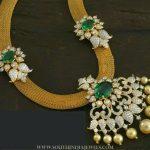 Gorgeous Diamond Emerald Attigai