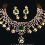 Diamond Emerald Set From Manjula Jewels