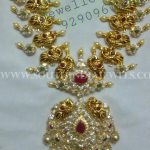 Gold Pachi Necklace From Neminath Jewellers