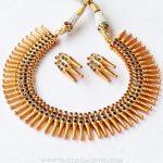 Imitation Spike Necklace Set From Aatman