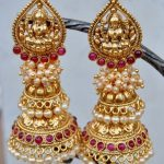 Imitation Pearl Jhumka From Orne Jewels