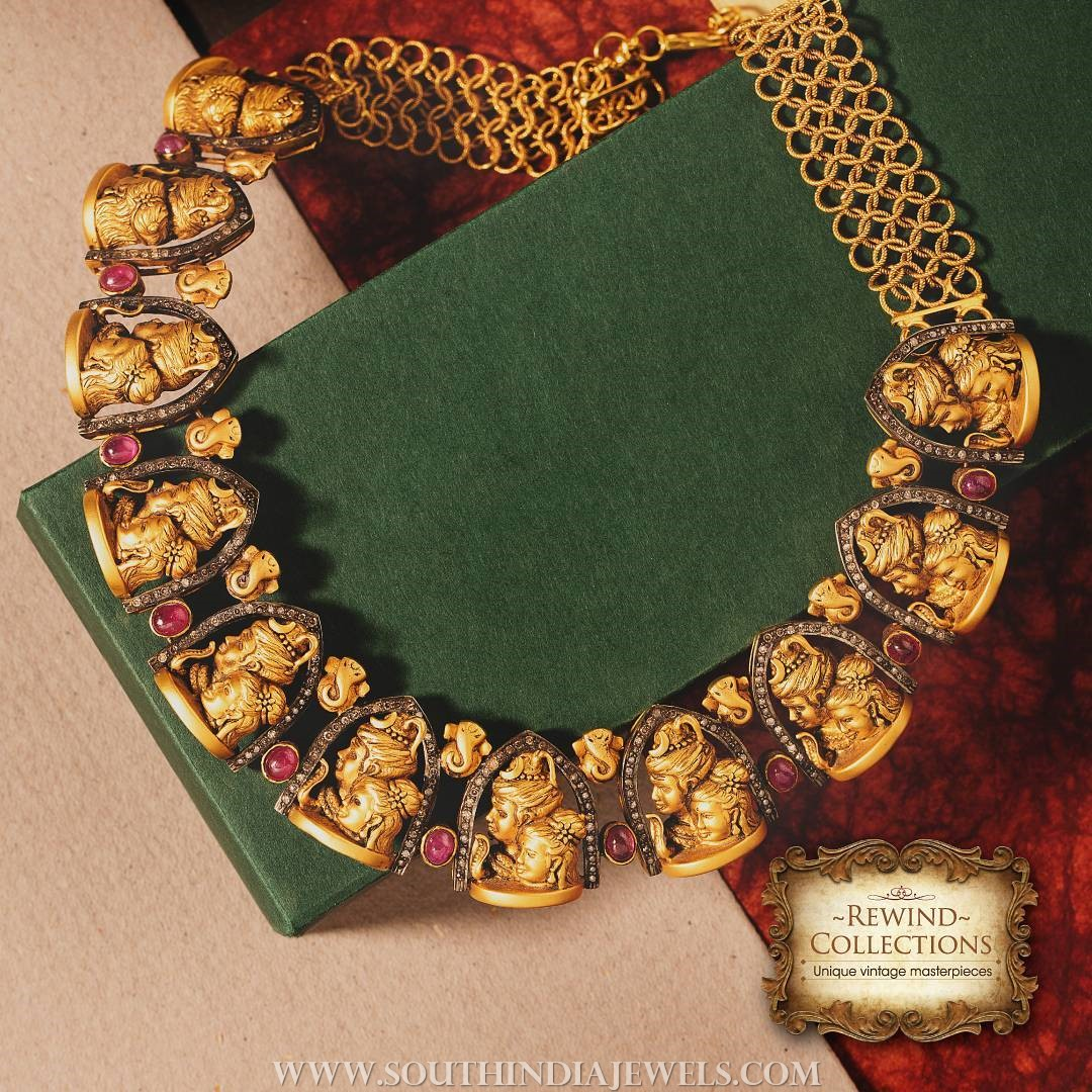 Antique Gold Necklace From NAC Jewellers