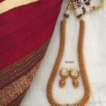 Gold Plated Chain Necklace Set From Tvameva