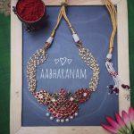 Short Kemp Choker From Aabharanam