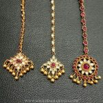 Gold Plated Antique Tikka Collections