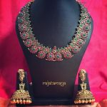 Ruby Mango Necklace From Rajatamaya
