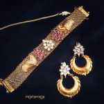 Antique Choker & Earrings From Rajatamaya